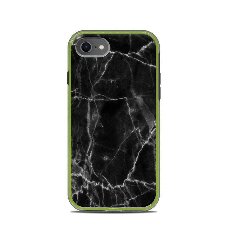 Black Marble LifeProof iPhone 8 Slam Case Skin