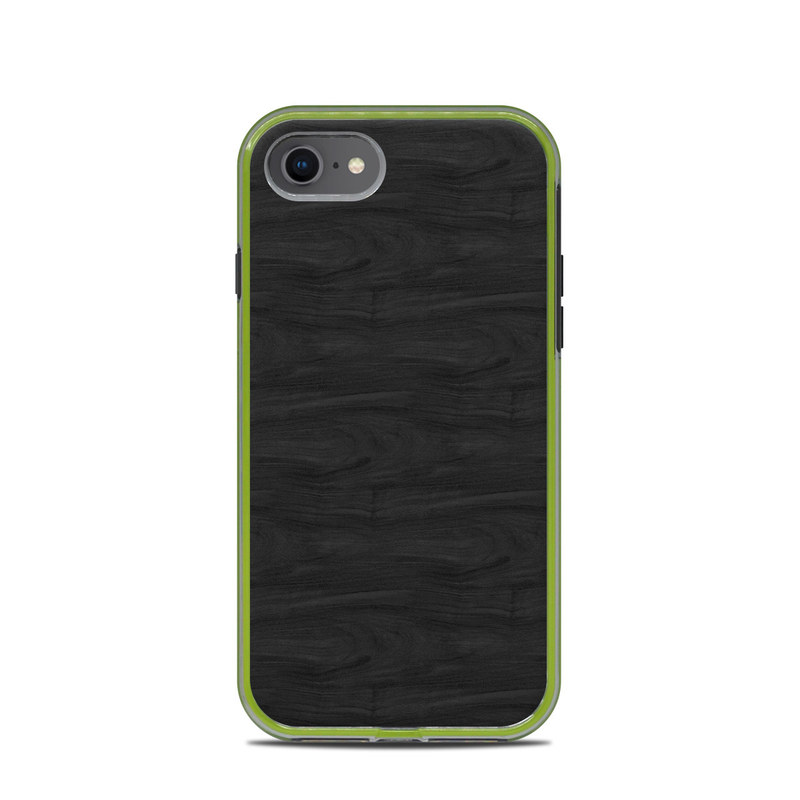 Black Woodgrain LifeProof iPhone 8 Slam Case Skin