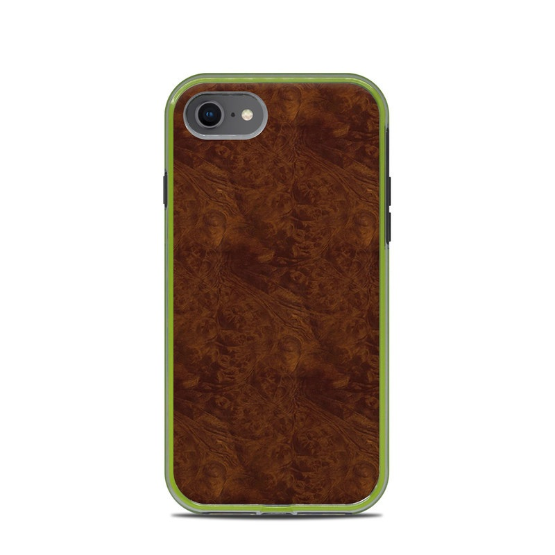 Dark Burlwood LifeProof iPhone 8 Slam Case Skin