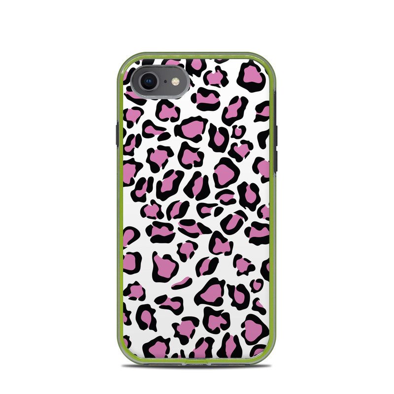 LifeProof iPhone 8 Slam Case Skin design of Pink, Pattern, Design, Textile, Magenta with white, black, gray, purple, red colors