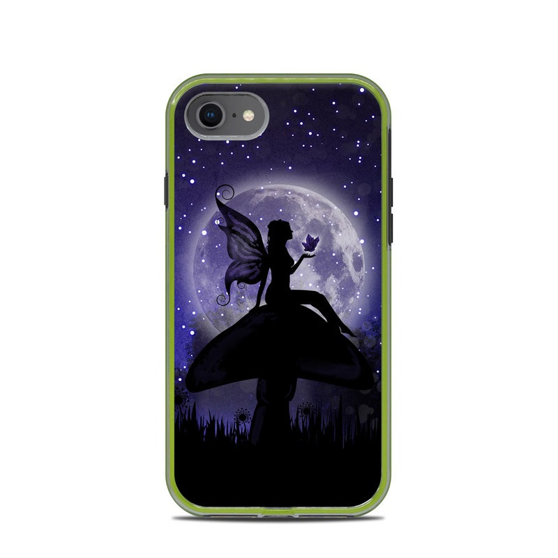 LifeProof iPhone 8 Slam Case Skin design of Purple, Sky, Moonlight, Cg artwork, Fictional character, Darkness, Night, Illustration, Space, Star with black, blue, gray, purple colors