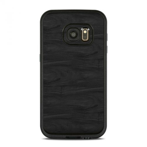 Black Woodgrain LifeProof Galaxy S7 fre Case Skin
