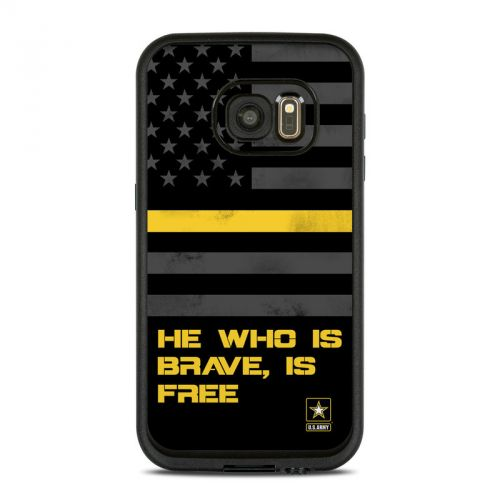 Brave is Free LifeProof Galaxy S7 fre Case Skin