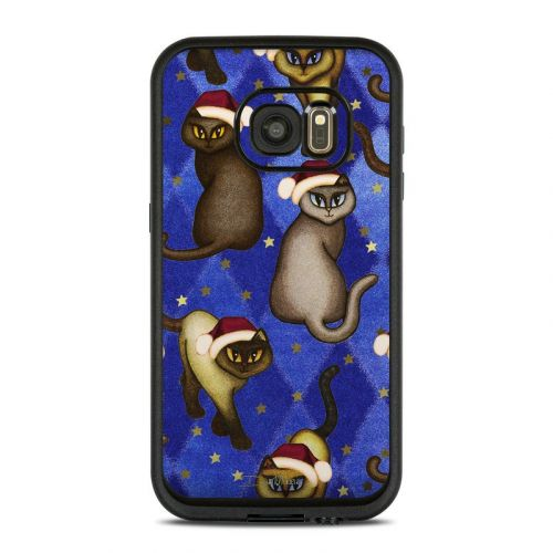 Christmas Cats LifeProof Galaxy S7 fre Case Skin