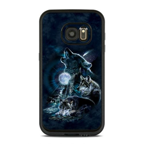 Howling LifeProof Galaxy S7 fre Case Skin