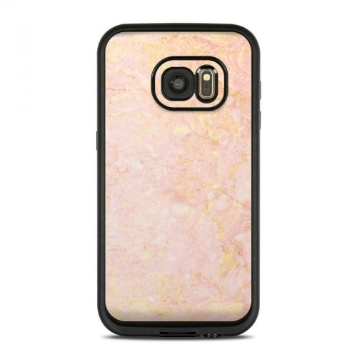 Rose Gold Marble LifeProof Galaxy S7 fre Case Skin