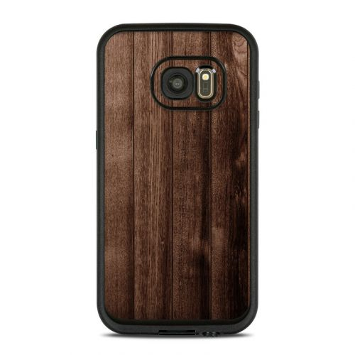 Stained Wood LifeProof Galaxy S7 fre Case Skin
