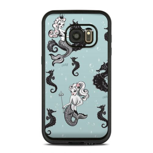 Vintage Mermaid LifeProof Galaxy S7 fre Case Skin