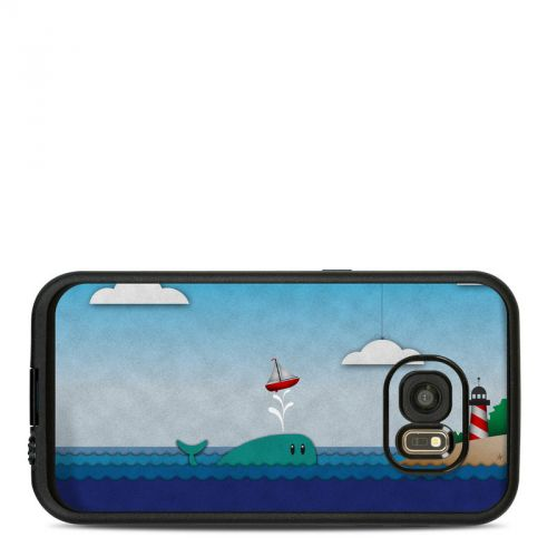 Whale Sail LifeProof Galaxy S7 fre Skin