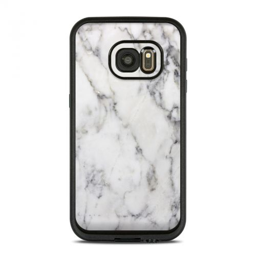 White Marble LifeProof Galaxy S7 fre Case Skin