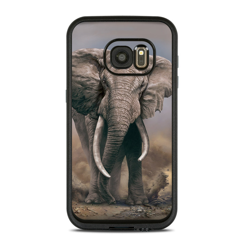 African Elephant LifeProof Galaxy S7 fre Case Skin