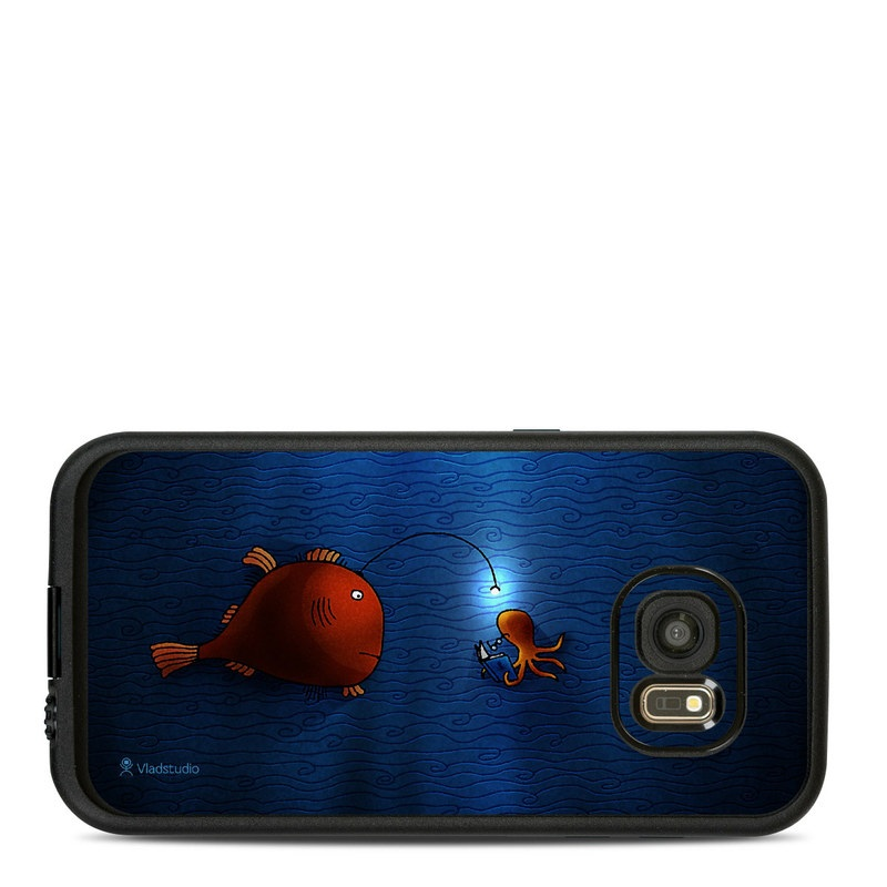 Angler Fish LifeProof Galaxy S7 fre Case Skin
