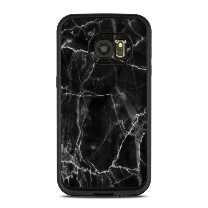 Black Marble LifeProof Galaxy S7 fre Case Skin