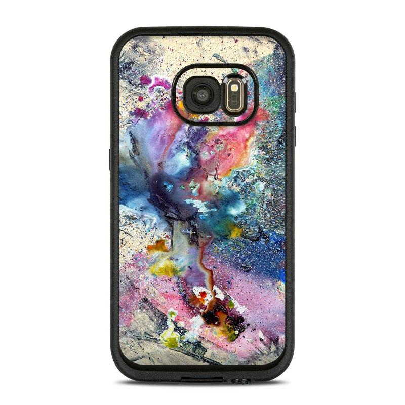 Cosmic Flower LifeProof Galaxy S7 fre Skin