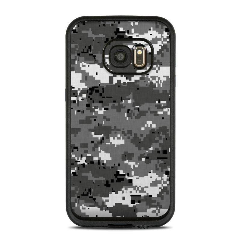 Digital Urban Camo LifeProof Galaxy S7 fre Skin
