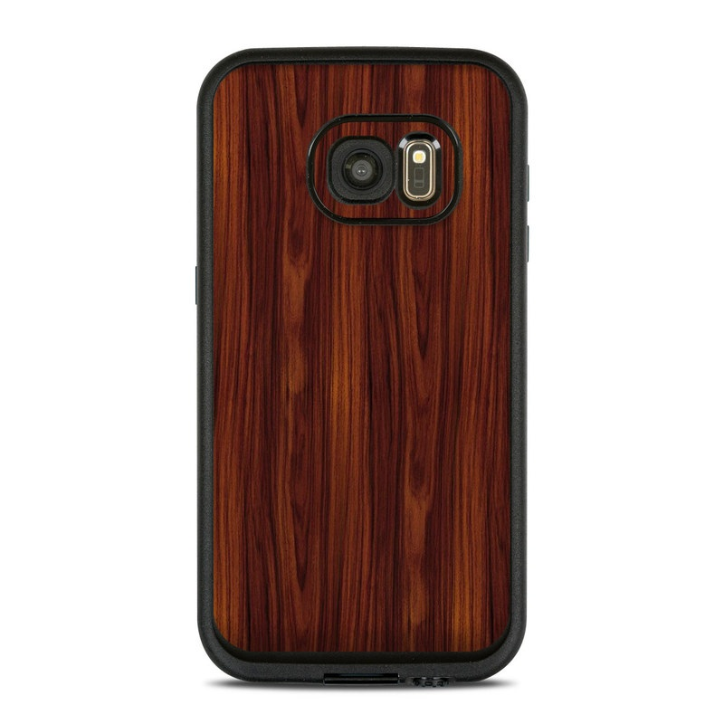 LifeProof Galaxy S7 fre Case Skin design of Wood, Red, Brown, Hardwood, Wood flooring, Wood stain, Caramel color, Laminate flooring, Flooring, Varnish with black, red colors