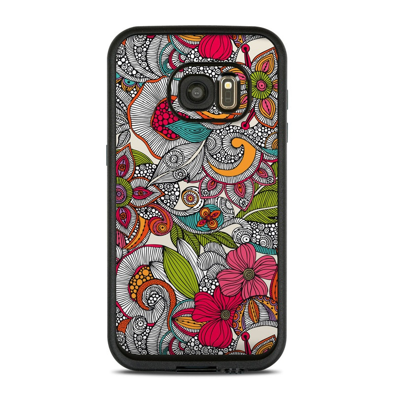 Doodles Color LifeProof Galaxy S7 fre Case Skin