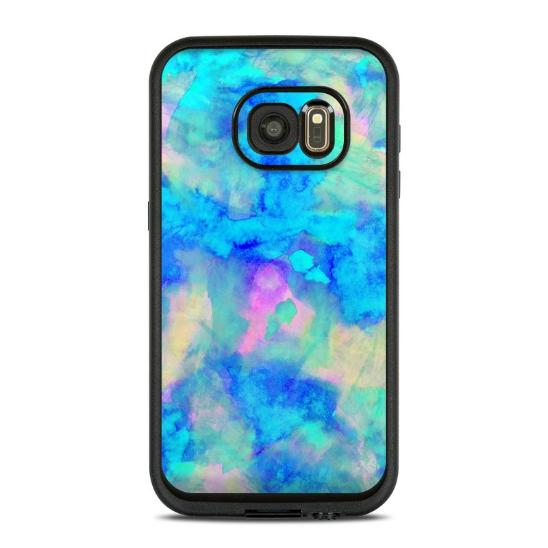 Electrify Ice Blue LifeProof Galaxy S7 fre Skin