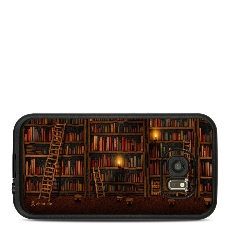 Library LifeProof Galaxy S7 fre Case Skin