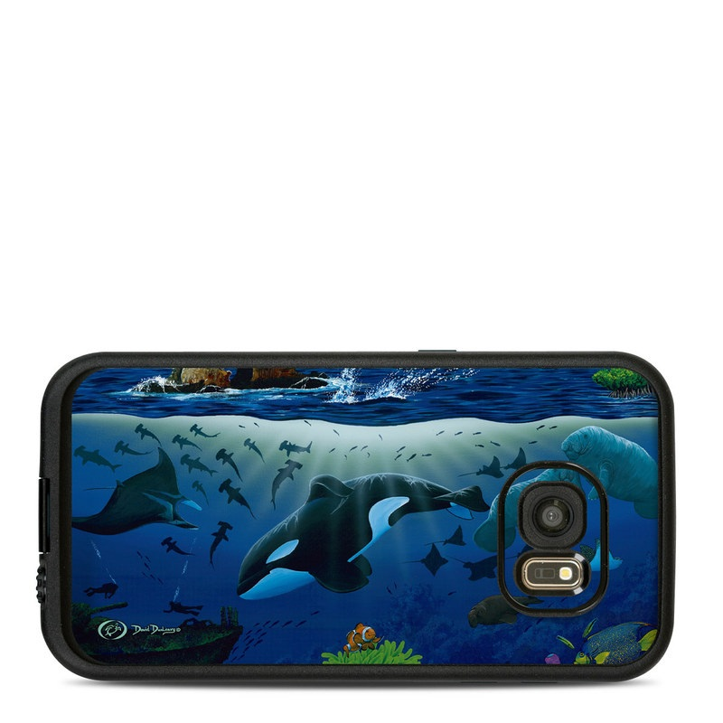 Oceans For Youth LifeProof Galaxy S7 fre Case Skin