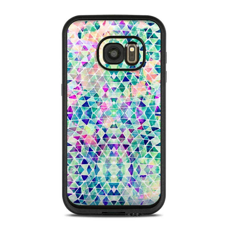 Pastel Triangle LifeProof Galaxy S7 fre Case Skin