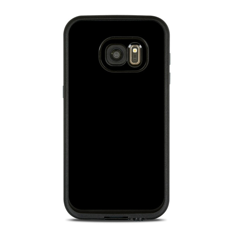 LifeProof Galaxy S7 fre Case Skin design of Black, Darkness, White, Sky, Light, Red, Text, Brown, Font, Atmosphere with black colors