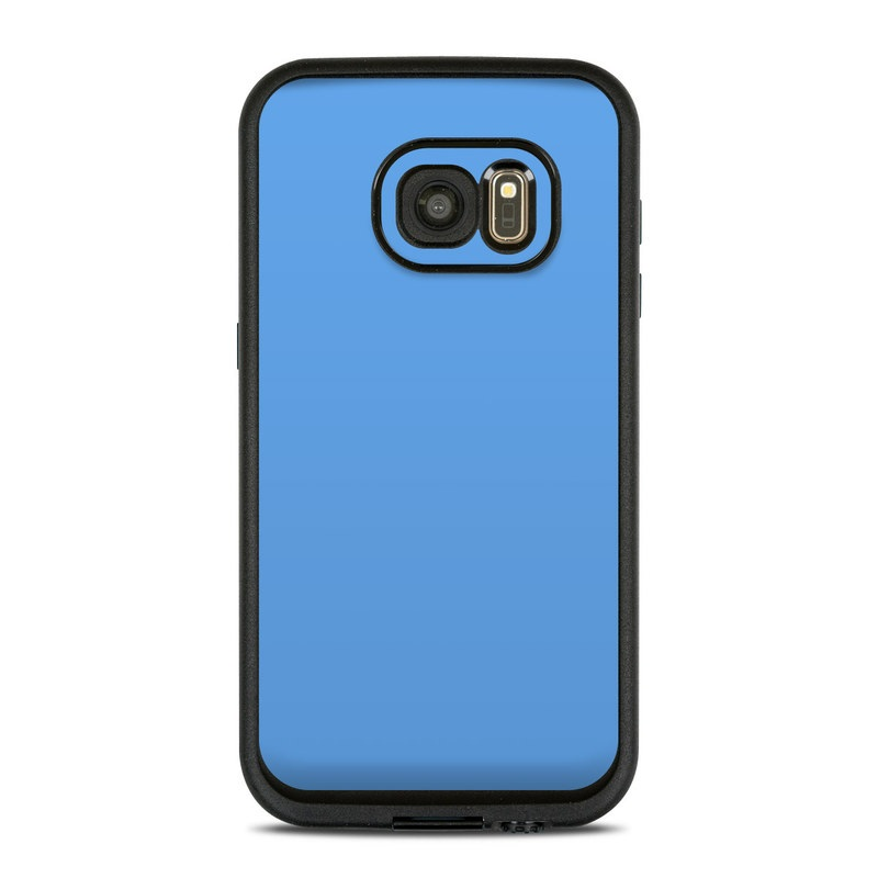 LifeProof Galaxy S7 fre Case Skin design of Sky, Blue, Daytime, Aqua, Cobalt blue, Atmosphere, Azure, Turquoise, Electric blue, Calm with blue colors