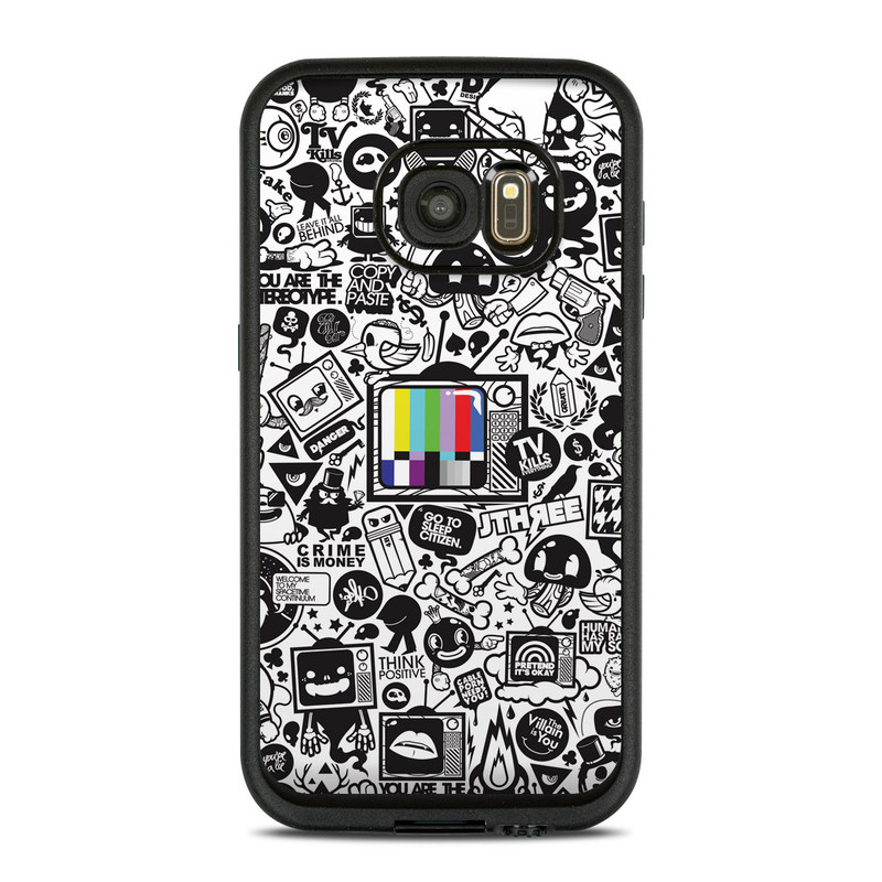 TV Kills Everything LifeProof Galaxy S7 fre Case Skin