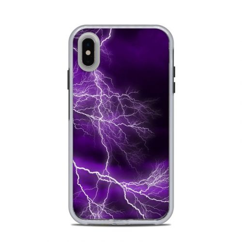 Apocalypse Violet LifeProof iPhone XS Max Slam Case Skin