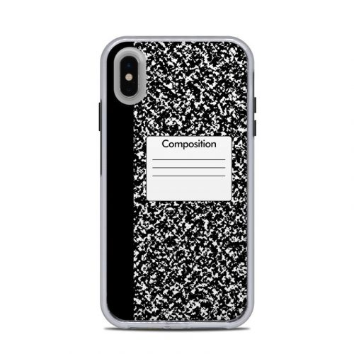 Composition Notebook LifeProof iPhone XS Max Slam Case Skin