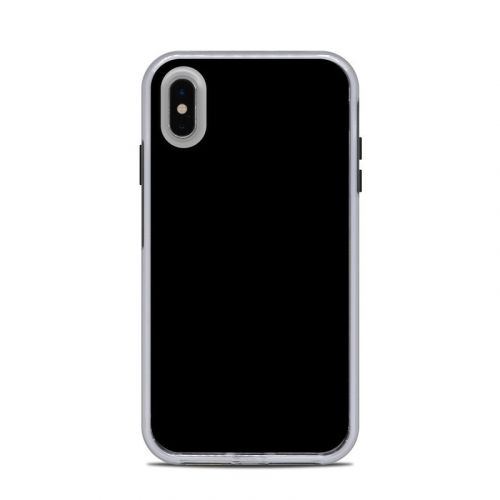 Solid State Black LifeProof iPhone XS Max Slam Case Skin