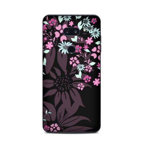 Dark Flowers LG V35 ThinQ Skin