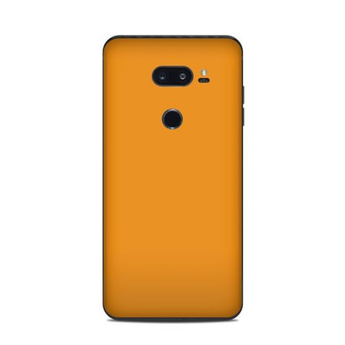 Solid State Orange LG V35 ThinQ Skin