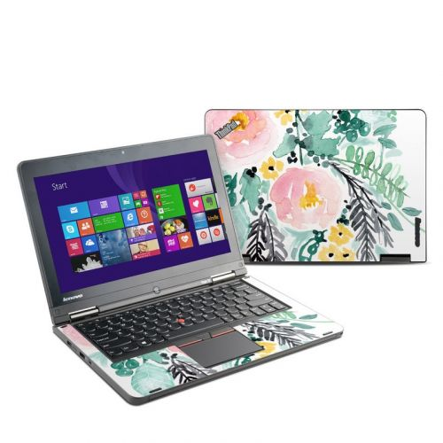 Blushed Flowers Lenovo ThinkPad Yoga 12 Skin
