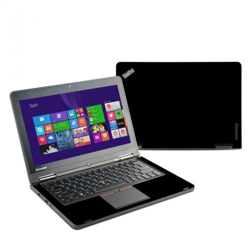 Solid State Black Lenovo ThinkPad Yoga 12 Skin