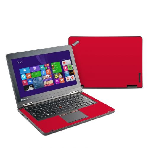 Solid State Red Lenovo ThinkPad Yoga 12 Skin