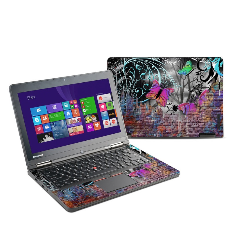 Butterfly Wall Lenovo ThinkPad Yoga 12 Skin