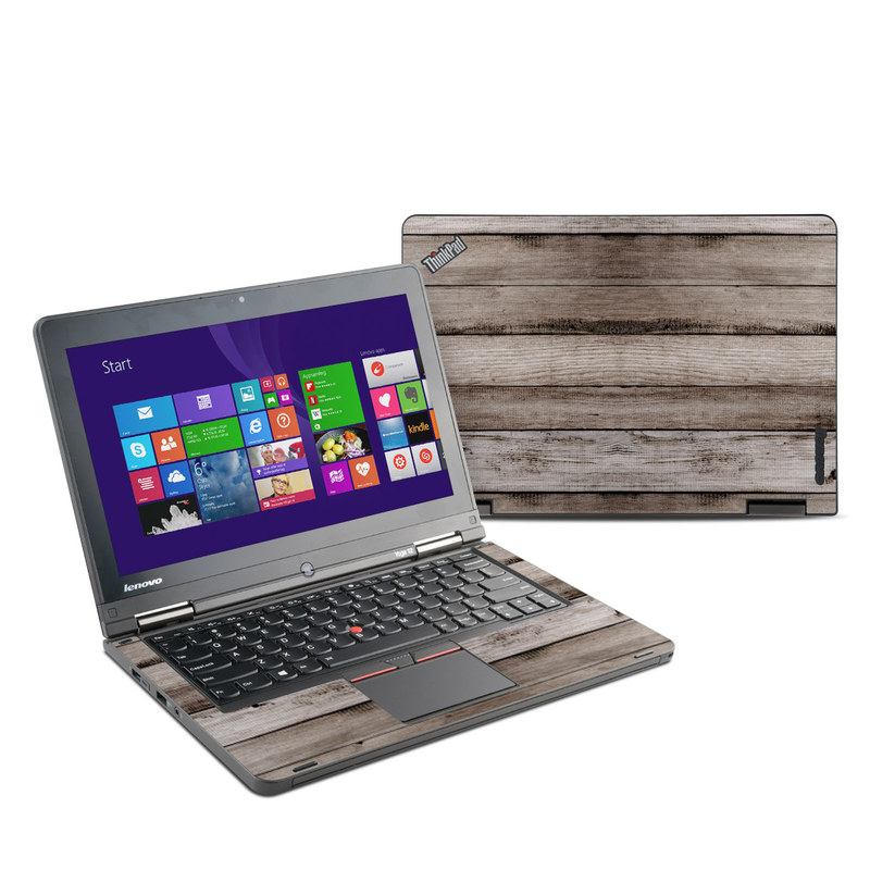 Barn Wood Lenovo ThinkPad Yoga 12 Skin
