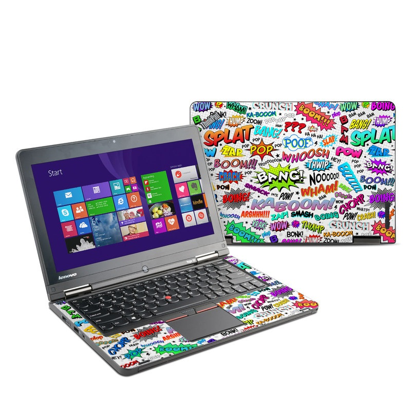 Lenovo ThinkPad Yoga 12 Skin design of Text, Font, Line, Graphics, Art, Graphic design with gray, white, red, blue, black colors