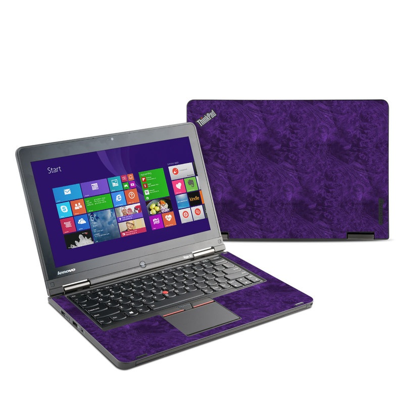 Purple Lacquer Lenovo ThinkPad Yoga 12 Skin