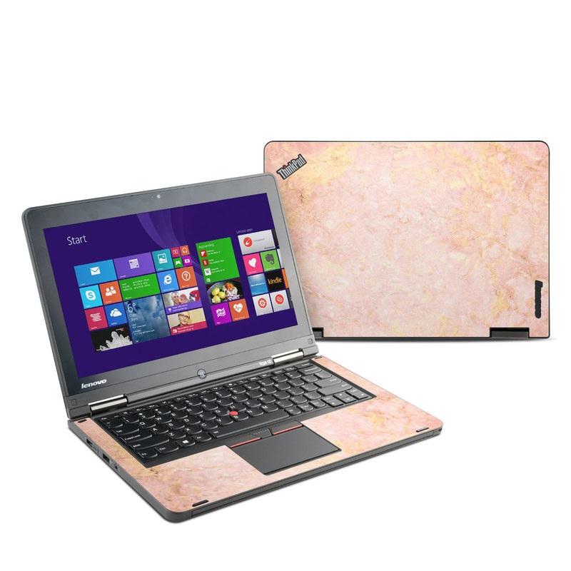 Rose Gold Marble Lenovo ThinkPad Yoga 12 Skin