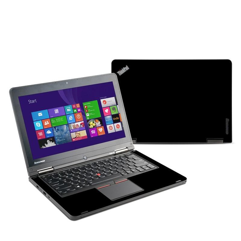 Solid State Black Lenovo ThinkPad Yoga 12 Skin