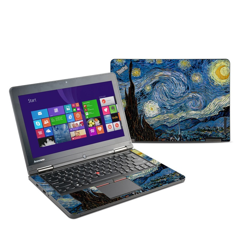 Starry Night Lenovo ThinkPad Yoga 12 Skin