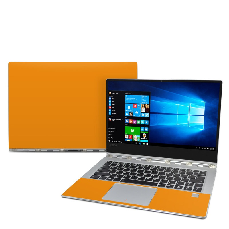 Solid State Orange Lenovo Yoga 910 Skin