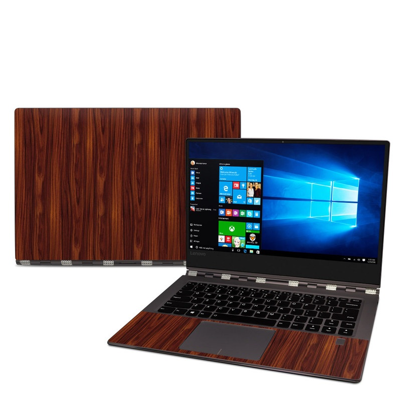 Lenovo Yoga 920 Skin design of Wood, Red, Brown, Hardwood, Wood flooring, Wood stain, Caramel color, Laminate flooring, Flooring, Varnish with black, red colors