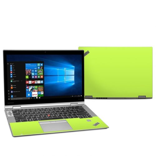 Solid State Lime Lenovo ThinkPad X1 Yoga 2nd Gen Skin