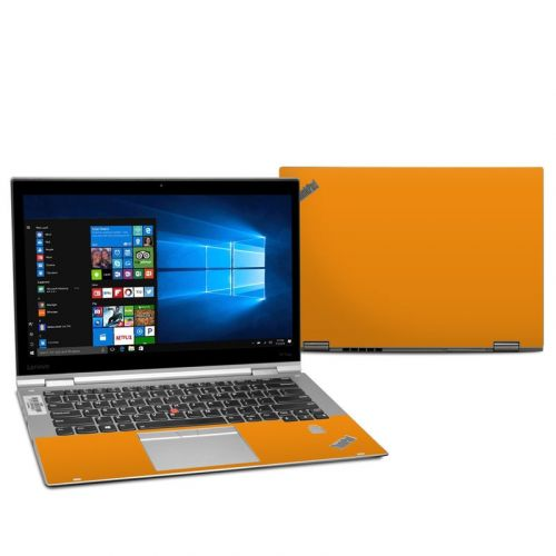 Solid State Orange Lenovo ThinkPad X1 Yoga 2nd Gen Skin