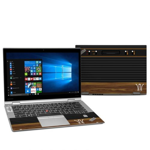 Wooden Gaming System Lenovo ThinkPad X1 Yoga 2nd Gen Skin
