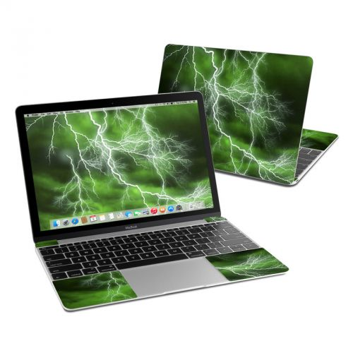 Apocalypse Green MacBook 12-inch Skin