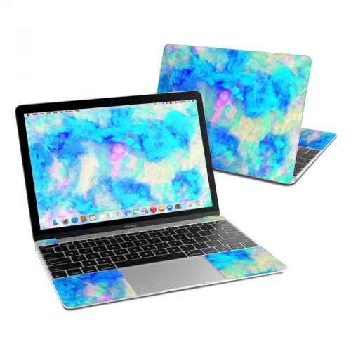 Electrify Ice Blue MacBook 12-inch Skin